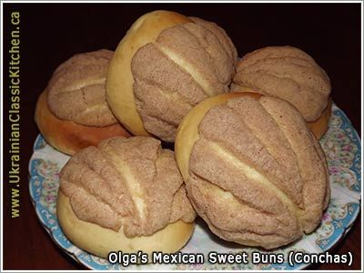 Mexican sweet bread recipes for conchas and cuernos