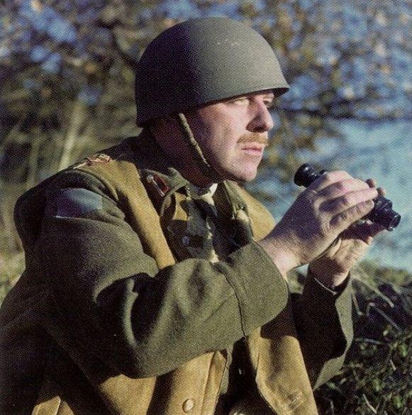 Major General Rod Keller of the 3rd Canadian Division, Normandy, France, 20 Jun 1944 (Canadian Department of National Defence)