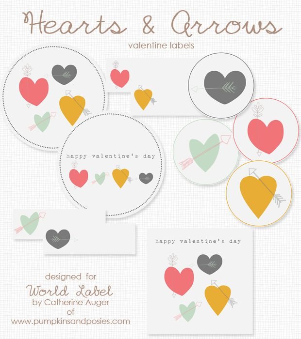 67 best Valentineu0027s Day Labels, Templates and Printables images on - address label template free