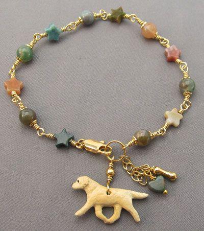 Yellow labrador retriever jewelry