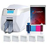 #8: Magicard Rio Pro Dual Sided ID Card Printer & Supplies Package with badgeDesigner ID Software