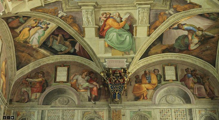 Sistine Chapel Ceiling - Zaheriah