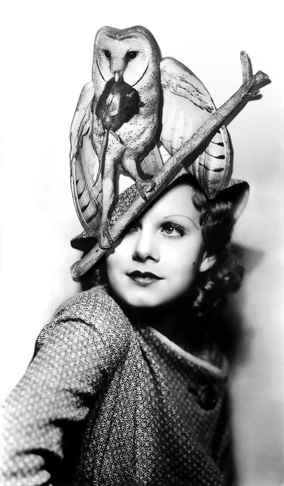 Jean Harlow in an incredible hat!
