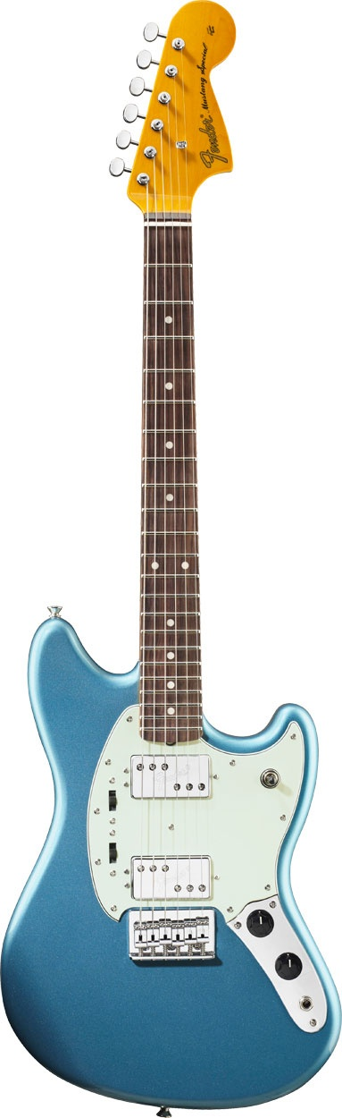 My guitar -- Fender Pawn Shop Mustang.  I really should be practicing.