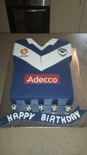 Melbourne Victory A-League Cake