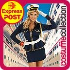 Adult Pin Up 1950s Sailor Party Costume | Costume Collection