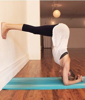 Headstand increases the circulation of blood and oxygen to the brain, calming the mind.