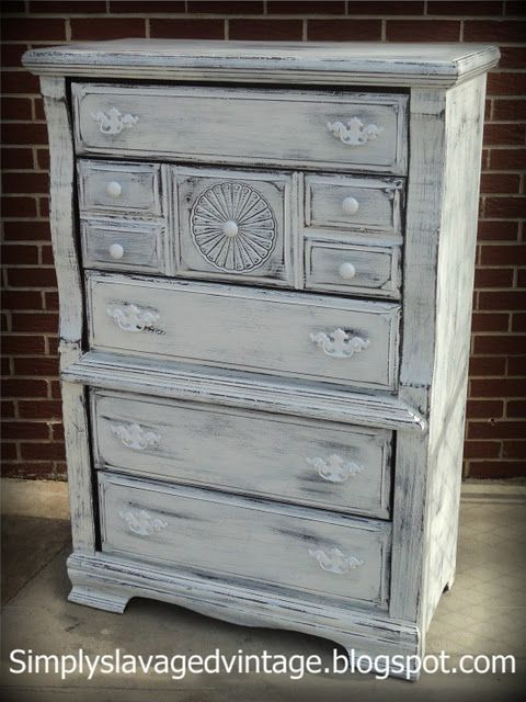 Shabby Chic Dresser Painted Furniture Painted