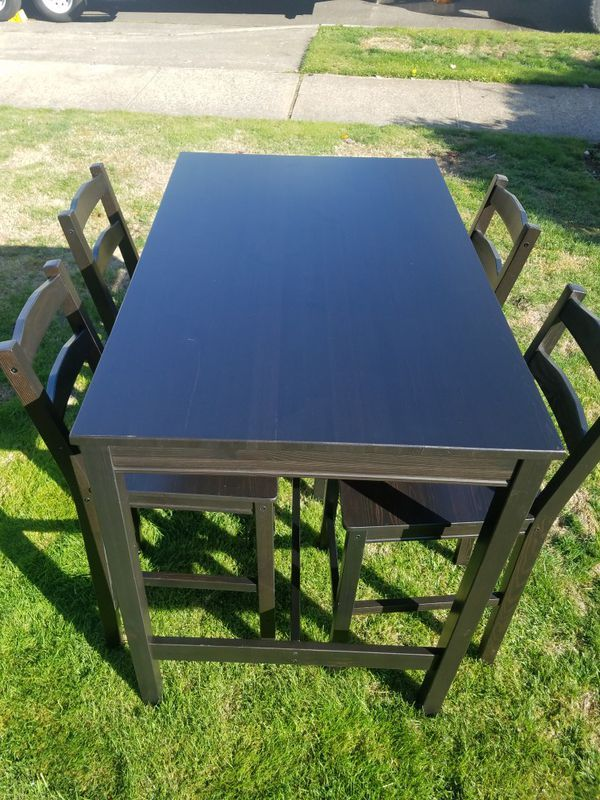 Ikea Dining Table With 4 Chairs For Sale In Orting Wa Ikea