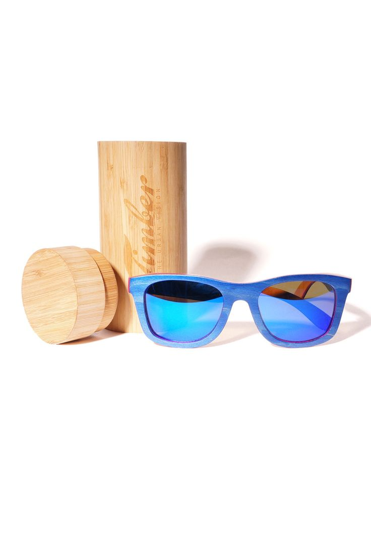 TIMBER - LAMINATED WAYFARER BLUE #wooden #Sunglasses #sunnies