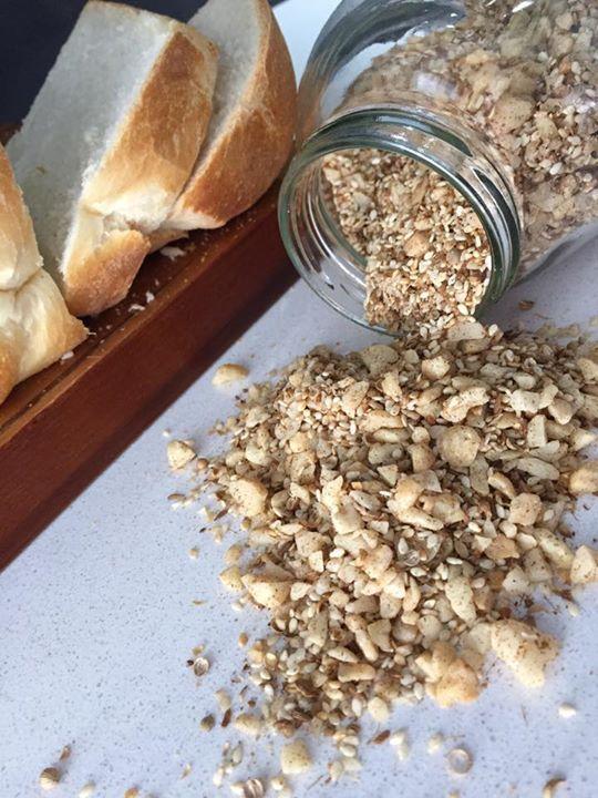 Macadamia Dukkah Recipe at https://www.facebook.com/delektable