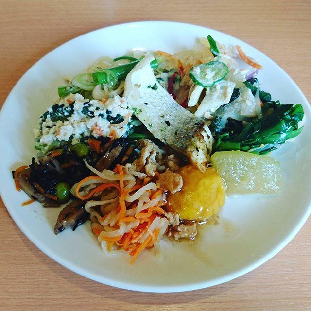 冬瓜は煮物だけじゃなくて、ツナサラダにも美味しい❗ 切り干し大根とか、ゴーヤの白和え、ひじきの煮物とか。 基本の和食もたくさん😊  #Japanesefood #spring #ブッフェ #バイキング #おいしい #温泉  #福岡 #食べ放題 #チーズケーキ #salad #cakes  #lunch #肉  #food #🍴 #delicious #strawberry #ゴーヤ #dessert #washoku #ケーキ #デザート #サラダ #japan #flowers #fukuoka #japan #博多 #蕎麦 #サラダ #野菜 #健康 #salad