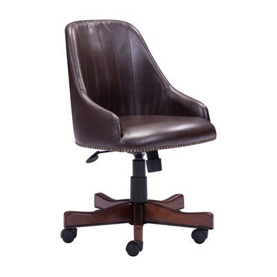 Zuo Modern 206082 Maximus Faux Leather Office Chair