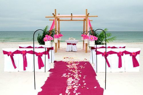 17 Best Ideas About Beach Wedding Ceremonies On Pinterest