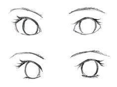 Free How to Draw eyes   JohnnyBro's How To Draw Manga: Drawing Manga Eyes (Part II)