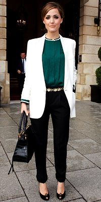 Rose Byrne, an Australian who knows #Pretty #Preppy #NapoleonPerdis