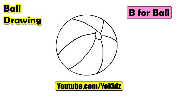 How to draw a BALL for kids  Ball Drawing from YoKidz  #YoKidz #Drawing #PencilDrawing #Generaldrawing #Like4like #Likeforlike #Share4share #Shareforshare #Draw #Blackandwhite #Ball #DrawBall