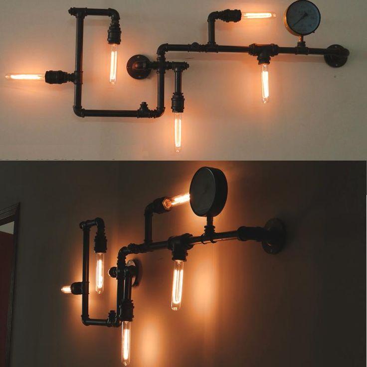 Ankara cayyolu tasarim lighting design dekoratif for Pipes and lights