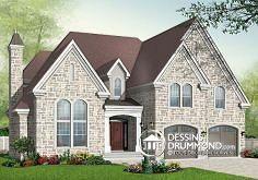 Plan de maison no. W3430 de dessinsdrummond.com