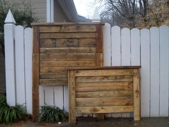 Hey, I found this really awesome Etsy listing at https://www.etsy.com/listing/125212893/twin-headboard-and-footboard-made-from