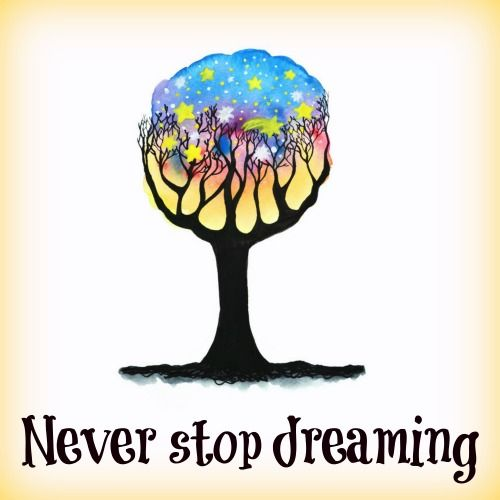 #ThoughtsBecomeThings so never stop dreaming! #MondayMotivation #free #inspirational #quotes #ecard