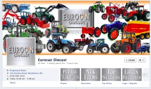 EuroCanDieCast Facebook Customization from Fresh Idea