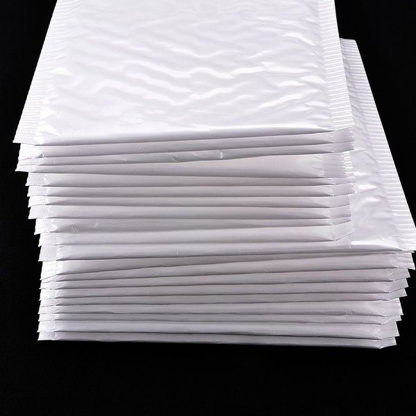 Wholesale White Poly Bubble Mailers Padded Envelopes Self Seal Shipping Bag