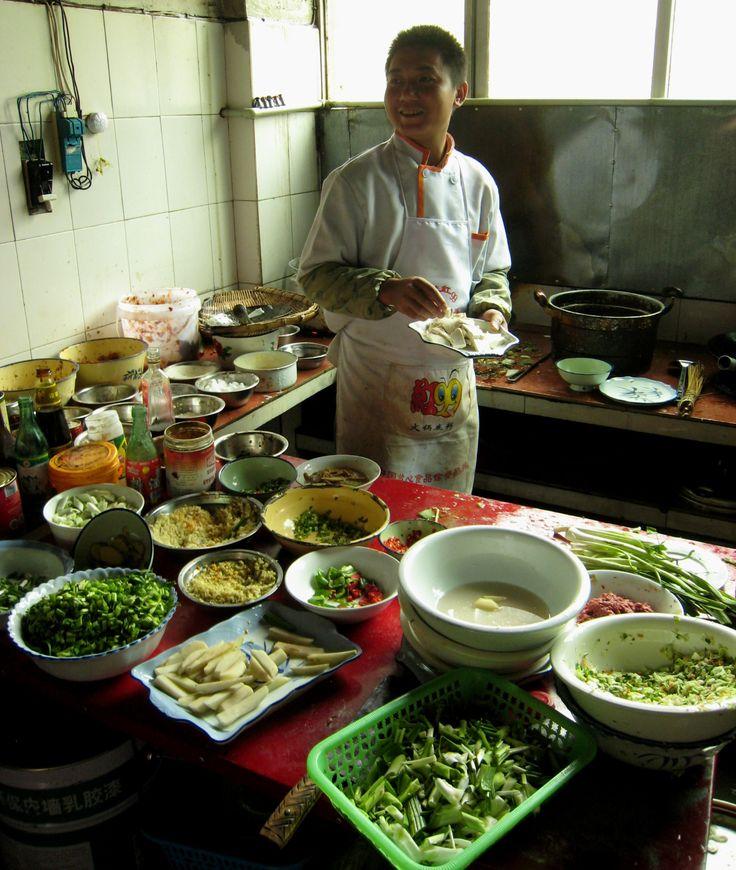 Cocina en el Tibet