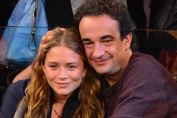 Mary-Kate Olsen and Olivier Sarkozy Have Smoke-Filled Wedding
