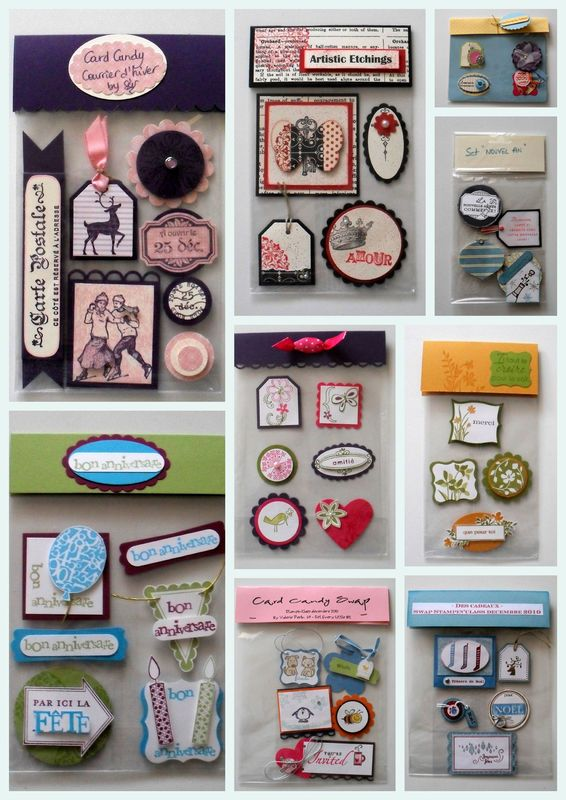 Card Making Embellishment Ideas Part - 31: Make Your Own Card Candy Embellishments
