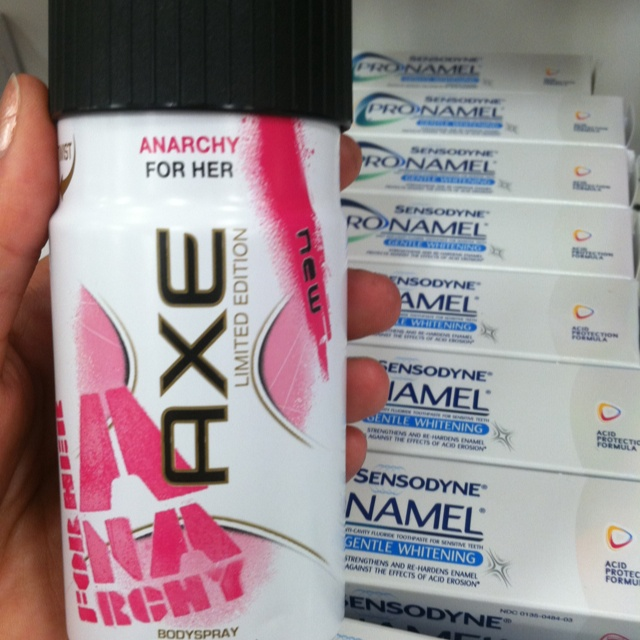 Axe for girls, smells just like Victoria Secret perfumes! $4 versus $40