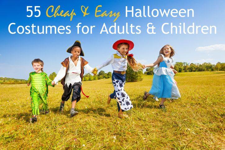55 Cheap & Easy #Halloween Costumes for Adults & Children | Coupon Sherpa
