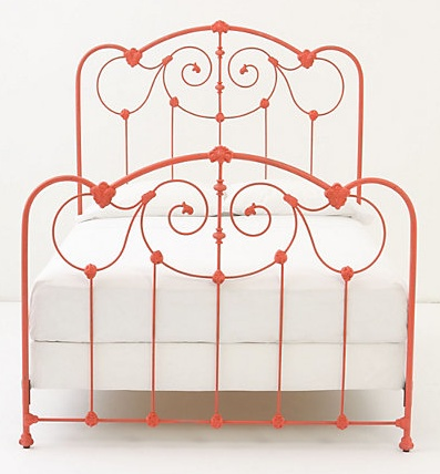 i just bought an iron bed i found on the side of the road truly i felt like i was robbing the family it was so inexpensive yet so exquisite