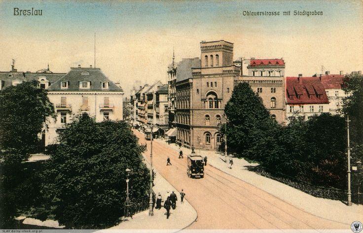 Dawny Odwach na ul. Oławskiej.Lata 1900-1910