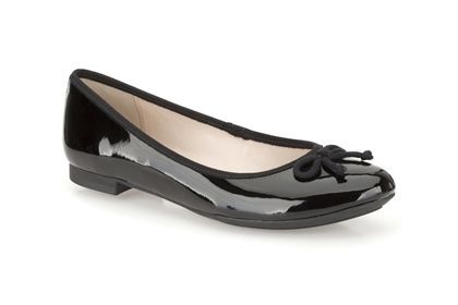 Clarks Carousel Ride - Black Patent - Womens Smart Shoes | Clarks