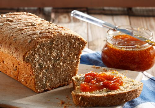 From the YOU kitchen: Seeded olive oil bread with gooseberry jam
