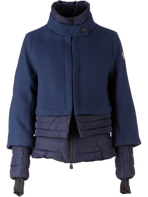 Moncler Grenoble Layered Padded Jacket - L'eclaireur - Farfetch.com
