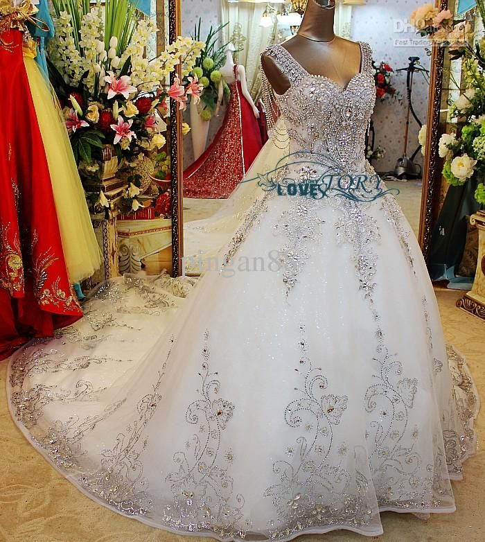 Wholesale Plus Size Crystal Dress - Buy Best Quality ! Sexy Rhinestone Crystal Acrylic Mosaic Beaded Corset Hollow Back with Shoulder Strap Slim Wedding Dress Lace Up Bridal Gowns, $1150.0 | DHgate.com
