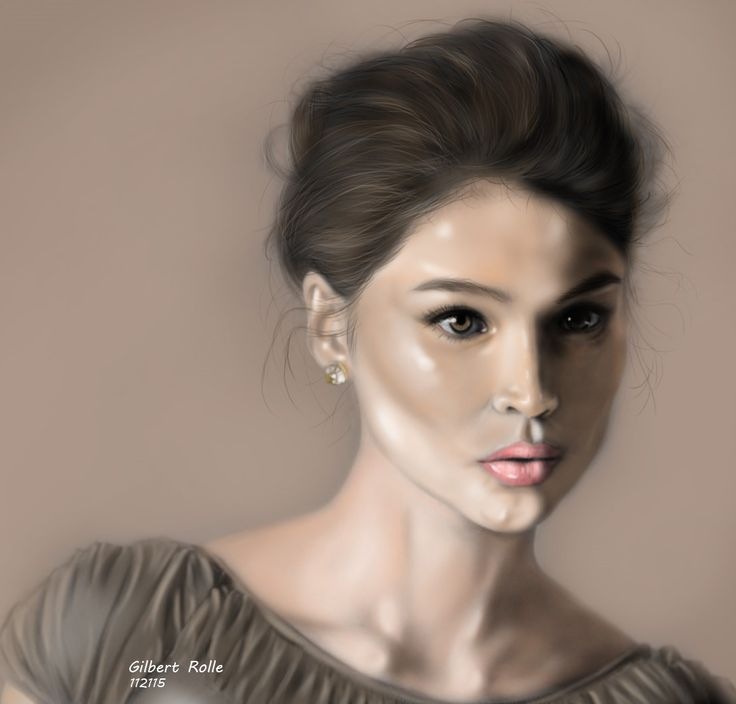Anne Curtis - This is by far the most realistic painting I did.