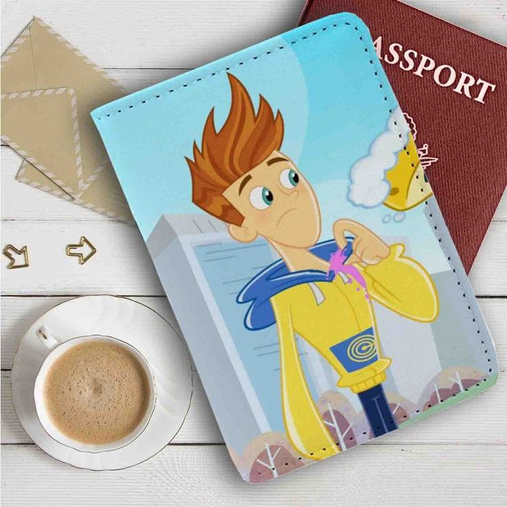 Twist Fresh Beat Band of Spies Leather Passport Wallet Case Cover