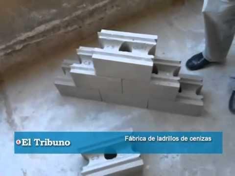Fábrica de ladrillos de cenizas volcánicas - YouTube