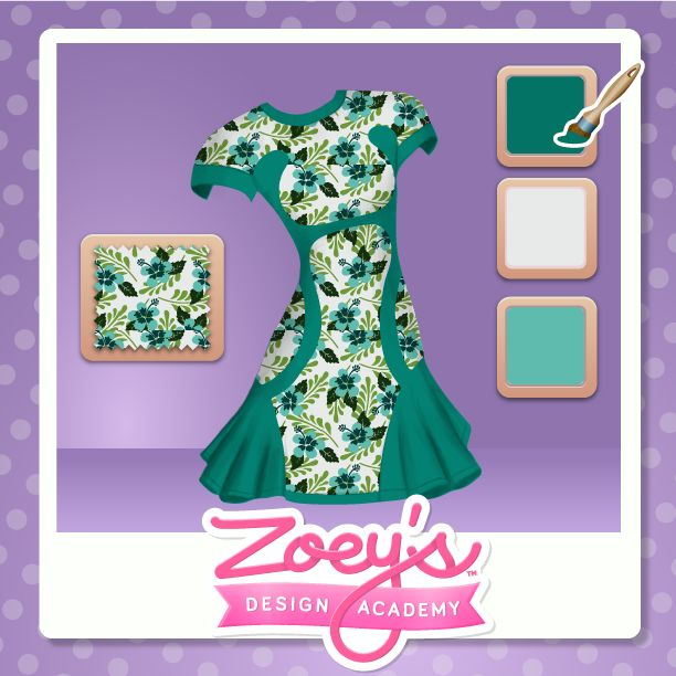 Design What You want on Zoey's Design Academy. Pick your favorite #Patterns Pick your favorite #Colors Find your style at www.zoeysdesignacademy.com #Fashiongame