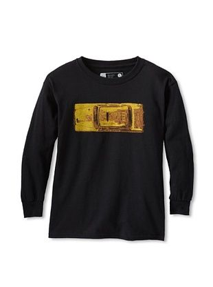 67% OFF Little Dilascia Kid's Taxi Long Sleeve Tee (Black)