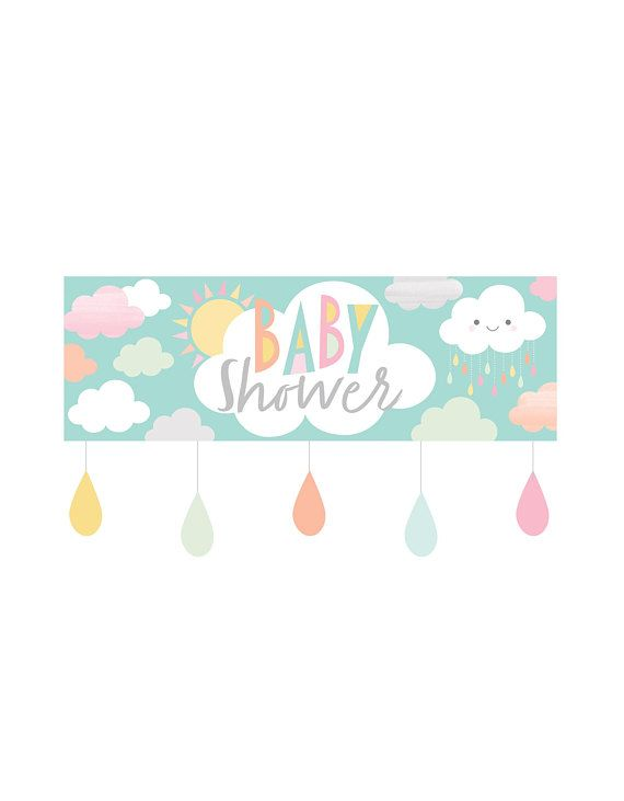 Cloud Napkins Cloud Party Supplies Gender Neutral Baby Sprinkle Rainbow Baby Shower Napkins Sunshine Baby Shower Cloud Baby Shower