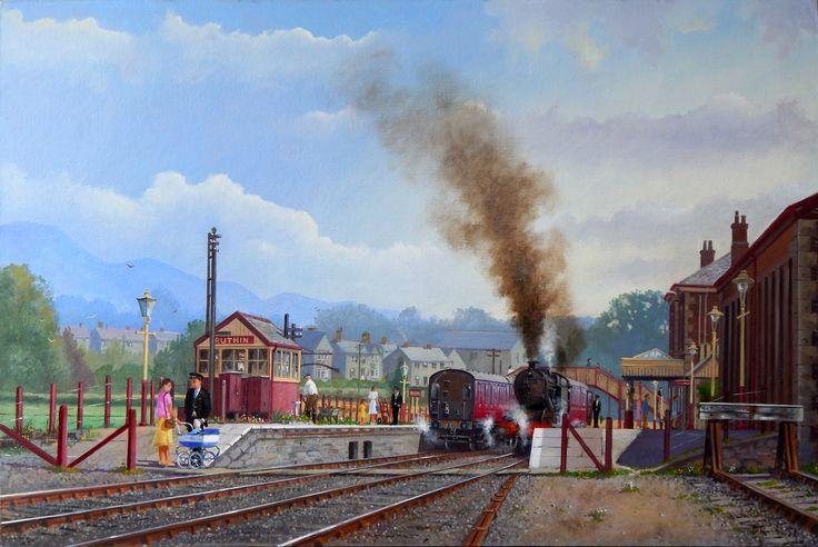 Ruthin Station 1950's