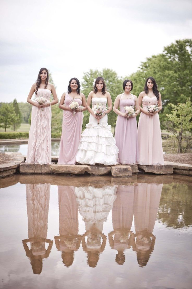 101 best beautiful bridesmaid dresses images on pinterest georgia wedding at foxhall sporting club from claudia mcdade photography romantic bridesmaids gownsbridesmaid ombrellifo Images