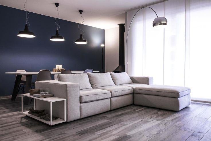 soggiorno : Soggiorno moderno di studiooxi #ideecasa #soggiorno