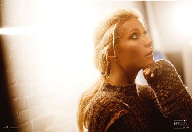 Gwyneth Paltrow by Carter Smith for Elle US September 2011