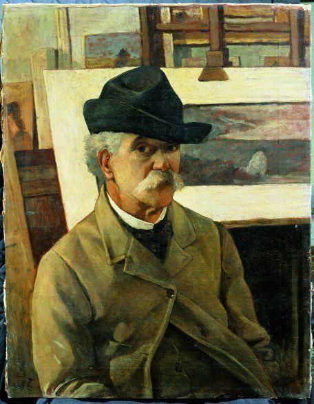 Giovanni Fattori, Autoritratto