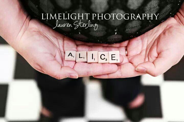 Pregnancy photos Alice in Wonderland